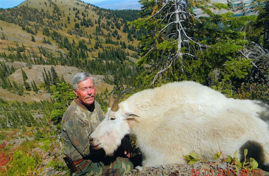 Mike's mountain goat