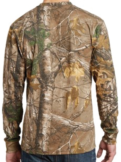 696fb47dbe8 OHA Long Sleeve Realtree Camo T-Shirt - Oregon Hunters Association  OHA