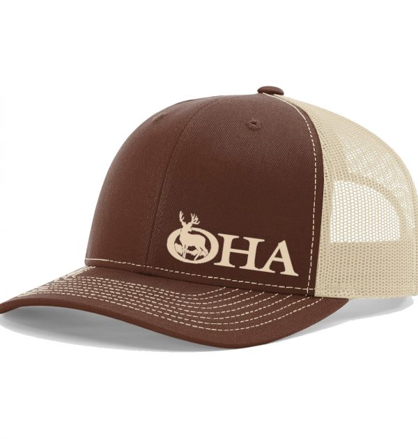retro hat brown