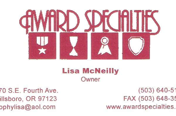 AwardSpecialties