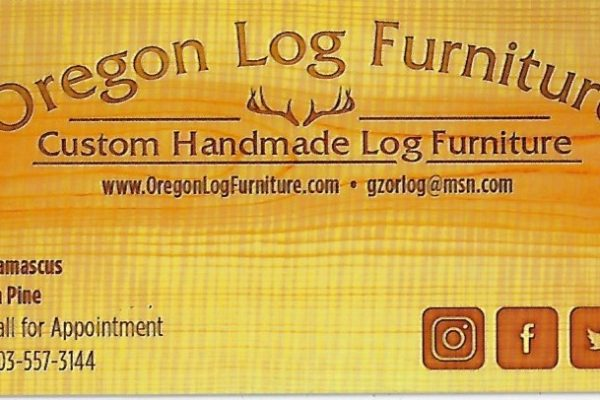 OregonLogFurniture